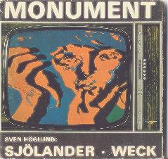 The Book MONUMENT Copyright by TURE SJOLANDER/LARSWECK 1968.